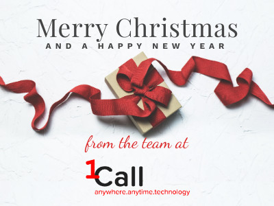 Merry Christmas from 1Call